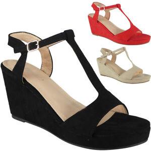 eb9c59f12bb1 Image is loading Womens-Ladies-Platform-Peeptoe-Party-Wedding-Platform-Shoes -