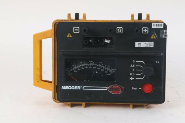 Biddle Megger Bm14 Insulation Calibration Tester For Sale Online Ebay