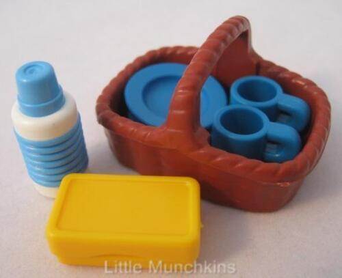 Playmobil Brown Panier Nouveau EXTRAS pour camping/dollshouse sets