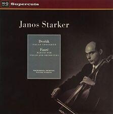 STARKER JANOS - SUSSKIND WALTER - DVORAK CELLO CONCERTO - FAURE ELEGIE FOR CELLO