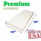 High Density Seat Foam Cushion Replacement Upholstery Foam Per Sheet 24