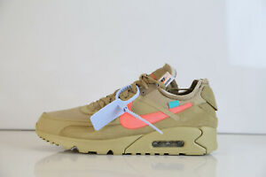 cheap for discount a5bad 8091a Image is loading Nike-Off-White-Virgil-Air-Max-90-Desert-
