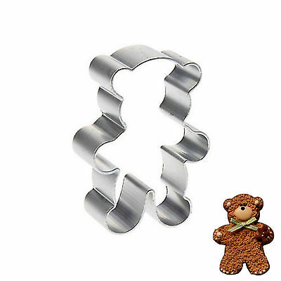 Stainless Steel Bear Cookie Cutter Biscuit Pastry Fondant Cake Decor Mold Mould