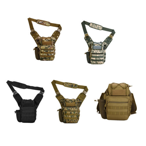 Tactical Military MOLLE Shoulder Bag Outdoor Camping Hiking Day Pack