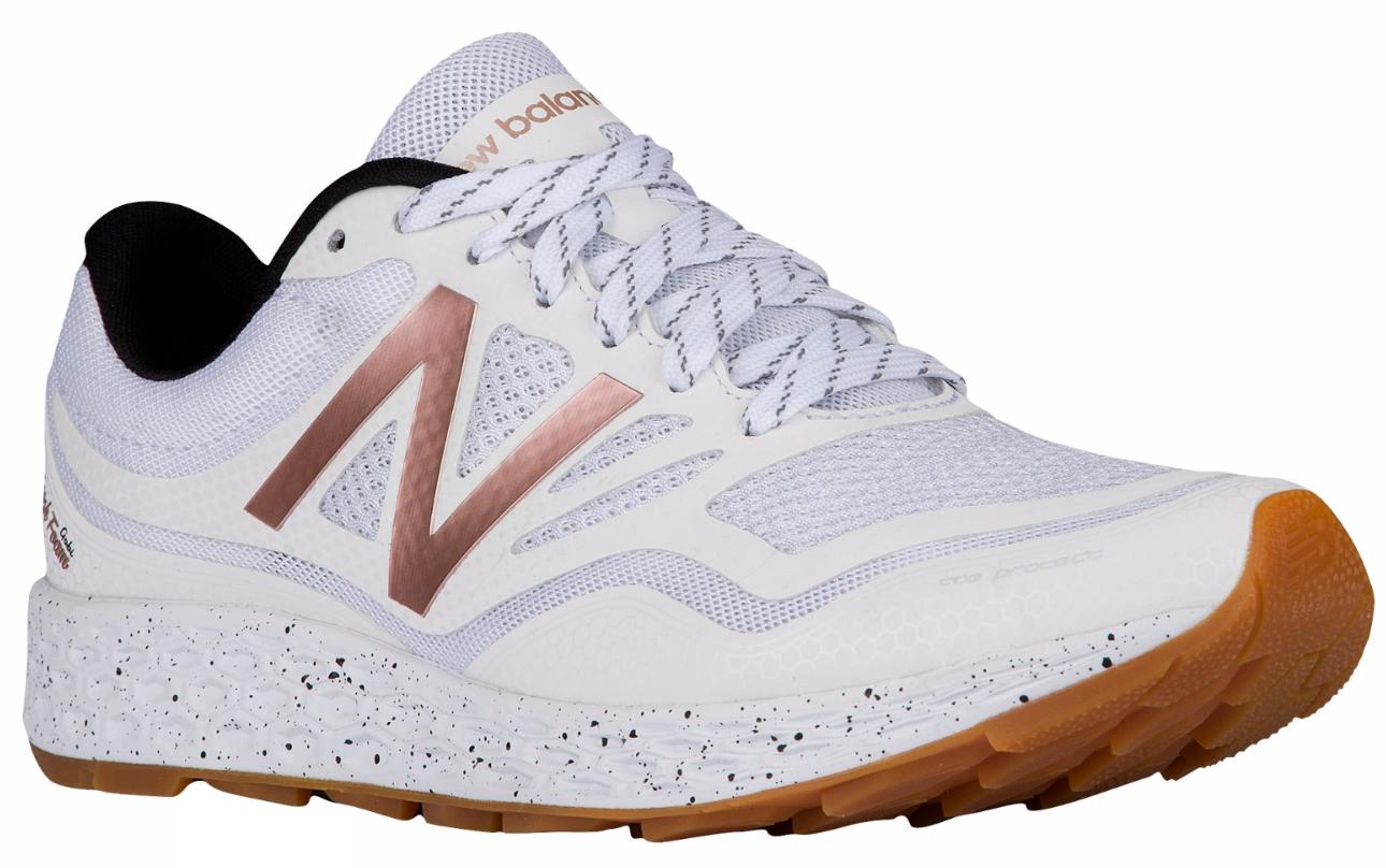 NEW BALANCE femmesGobi Fresh Foam G Sz 9 blanc / Rose Gold Trail RunningChaussures
