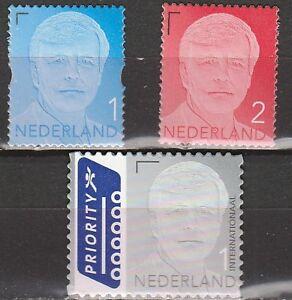 Nederland-2013-3135-3137bt-Koning-Willem-Alexander-cat-waarde-8-55