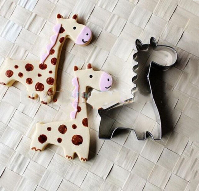 Giraffe Cookie Biscuit Cutter Cake Pastry Bread Mould Mold Baking Tools HI