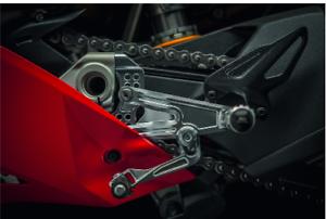 Ducati By Rizoma Einstellbare Aluminium-Racing-Fußrastenanlage-Klappbar