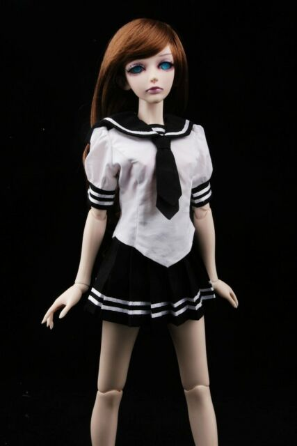 [wamami]251# Black Sailor Dress/Suit/Outfit 1/4 MSD BJD Dollfie