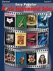 Easy Popular Movie Instrumental Solos: Clarinet by Alfred Publishing Company (Mixed media product, 2008)