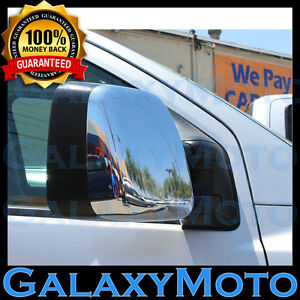 Chrome-Towing-Mirror-Cover-Model-ONLY-1-pair-for-05-15-Nissan-Titan-2005-2015