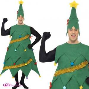 e0af02b7a356 Image is loading Adults-Deluxe-Christmas-Tree-Costume-Ladies-Mens-Xmas-