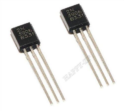 50Pcs 2N3906 À-92 Général Propose Transistor Pnp xv