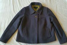 PAUL COSTELLOE DRESSAGE SHORT WINTER COAT uk 16  lavender melton wool jacket xl