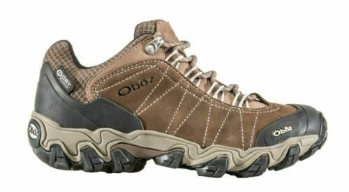 Oboz Bridger Low BDRY Waterproof Women/'s Leather Hiking Shoes US Sizes 7-10