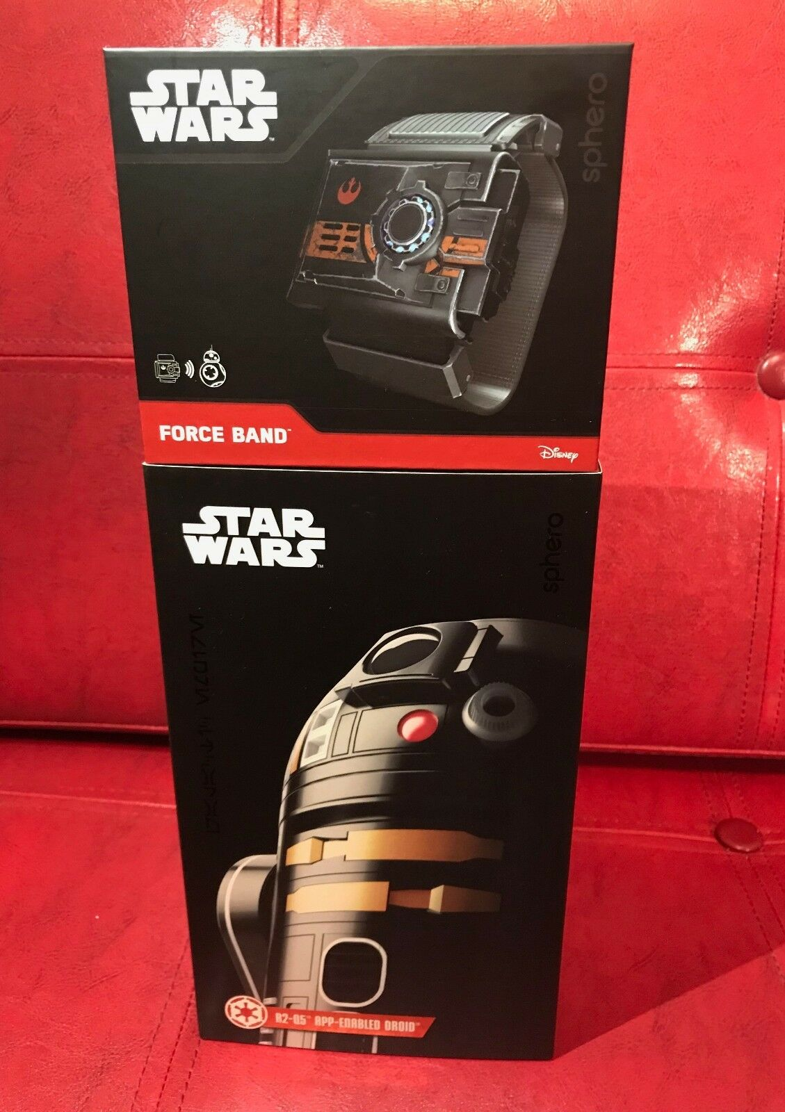 Sphero Star Wars Force Droid Plus Banda Paquete NYCC  nuevo