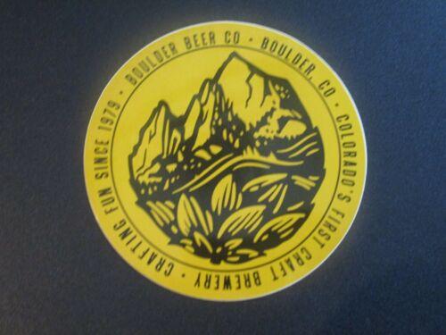 BOULDER BEER hop mountain colorado STICKER decal craft beer brewery brewing