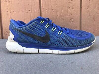 RARE Nike Free 5.0 Men US 9.5 Blue