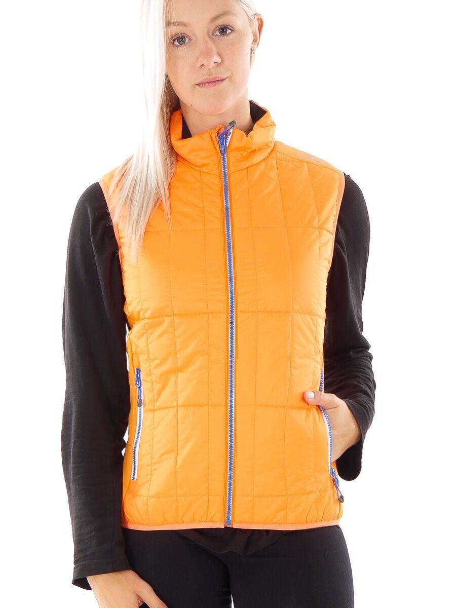 CMP Vest Gilet Quilted Vest Functional Vest orange Primaloft Bags