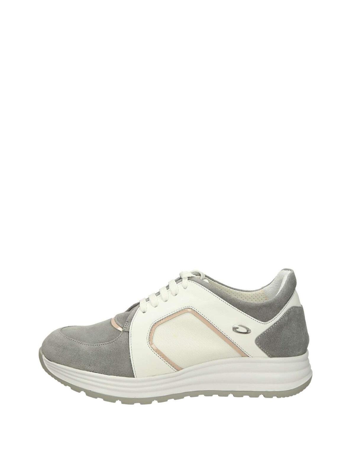 shoes GUARDIANI SD60431H   SX82 women PELLE SNEAKER grey GREY ORIGINALI NEW
