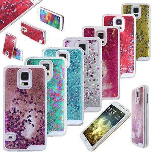 3D-Bling-Etui-Housse-Coque-Liquide-Paillettes-Etoiles-Pour-Samsung-Galaxy-amp-Apple