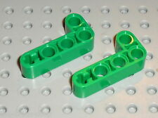 LEGO TECHNIC green liftarm beam 2x4 ref 32140 /sets 8446 8281 8241 8236