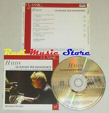 CD HAYDN Le sonate per pianoforte ANDRAS SCHIFF 1 classic voice 2004 lp mc dvd