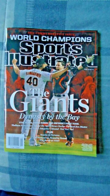Sports Illustrated San Francisco Giants World Champions 2014 Commemorative Issue