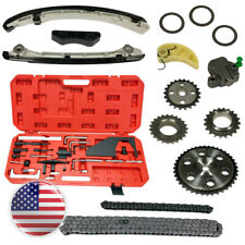 EWK Turbo Non-Turbo Camshaft Crankshaft Engine Timing Chain Tool Plate Kit for Mazda Ford 2.3L CX7