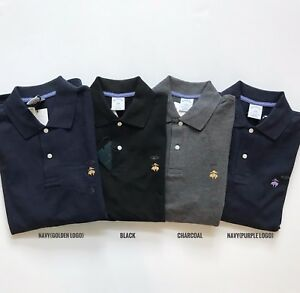 NWT-Brooks-Brothers-Men-039-s-Slim-Fit-Long-Sleeve-Performance-Pique-Polo-Shirt-NEW