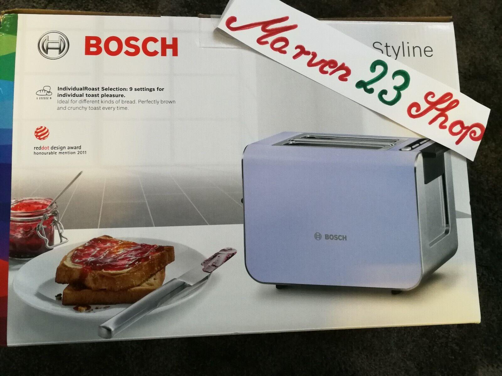 BOSCH TAT8619 Styline Grille-pain  violet , de l'Allemagne, la livraison gratuite dans le monde entier
