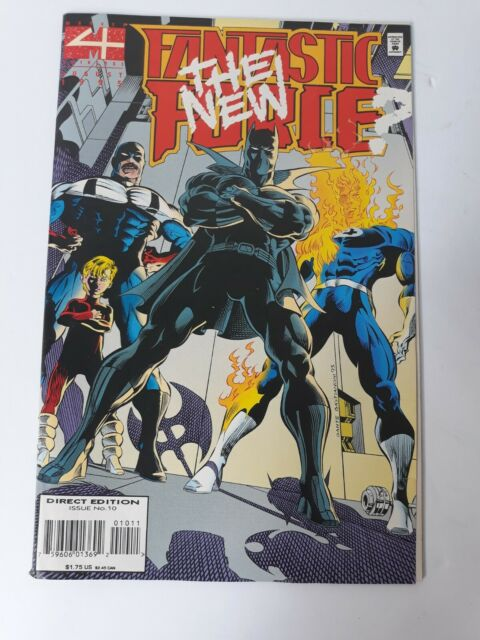 Marvel Universe The New Fantastic Force August 1995 Direct Edition Issue #10