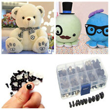 6-12mm 100pcs Safety Eyes for Teddy Bear Making Soft Toys Animal Dolls Amigurumi