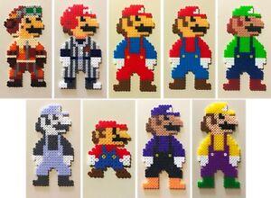 Details About Super Mario Odyssey Costume Mini Bead Sprites Perler Artkal Pixel Art Retro 8bit