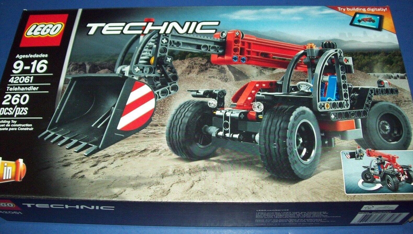 Lego 42061 Technic Carrelli a Braccio Telescopico Costruzione Power Funzione