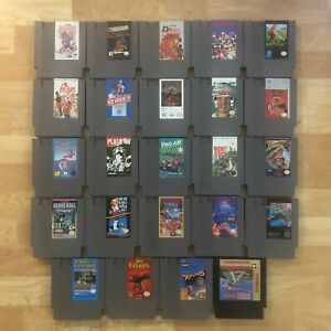 Lot-of-24-Nintendo-Entertainment-System-NES-Games-Great-Condition-Used-C10