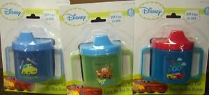 Lightning McQueen Disney/'s Cars Twin Handle Sippy Cup Baby Shower Party Gift