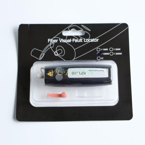 Poche-Type 10 mW 10 km Mini Visual Fault Locator Fiber Optic Cable Tester Checker