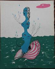 Lithographie de Felix LABISSE signée au crayon Histoire Naturelle l'Arthémise +