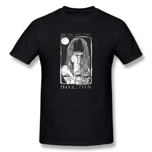 New Bring Me The Horizon T Shirt Men/'s T-shirt Black
