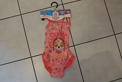 Treu Badeanzug Swimsuit Mädchen Sommer Bikini Paw Patrol Gr 92,98,104,110,116,122 Neu