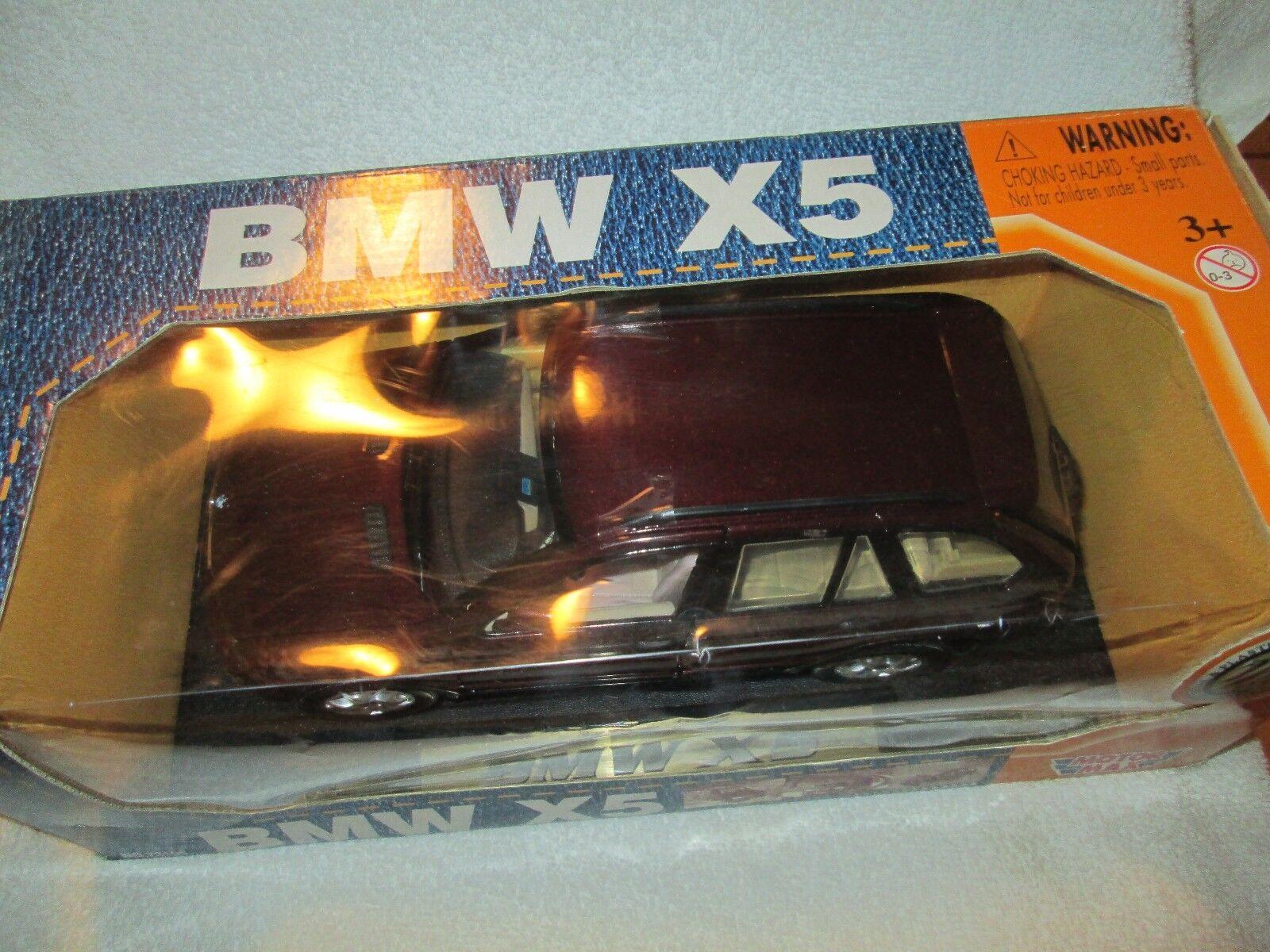 BMW X6 SUV 1/18 SPORT SPORT SPORT UTILITY  WAGON diecast Motormax a0e9ea