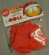 WILTON RARE CHRISTMAS GARFIELD COOKIE CUTTERS SET 4 PIECES NEW!!!!!!!!!!!!!!!!!!