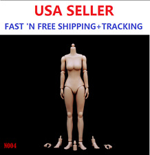 ZY TOYS 1/6 Scale MEDIUM Bust Caucasian skin tone Female Body N004