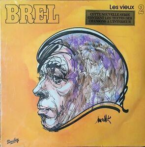 Jacques-Brel-Les-vieux-2-Vinyl-LP-33T-Neuf-sous-blister