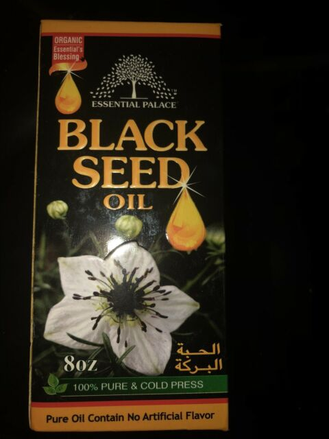 Black Seed Oil - Organic, Cold-pressed and RAW - 8-Ounce (GLASS BOTTLE)