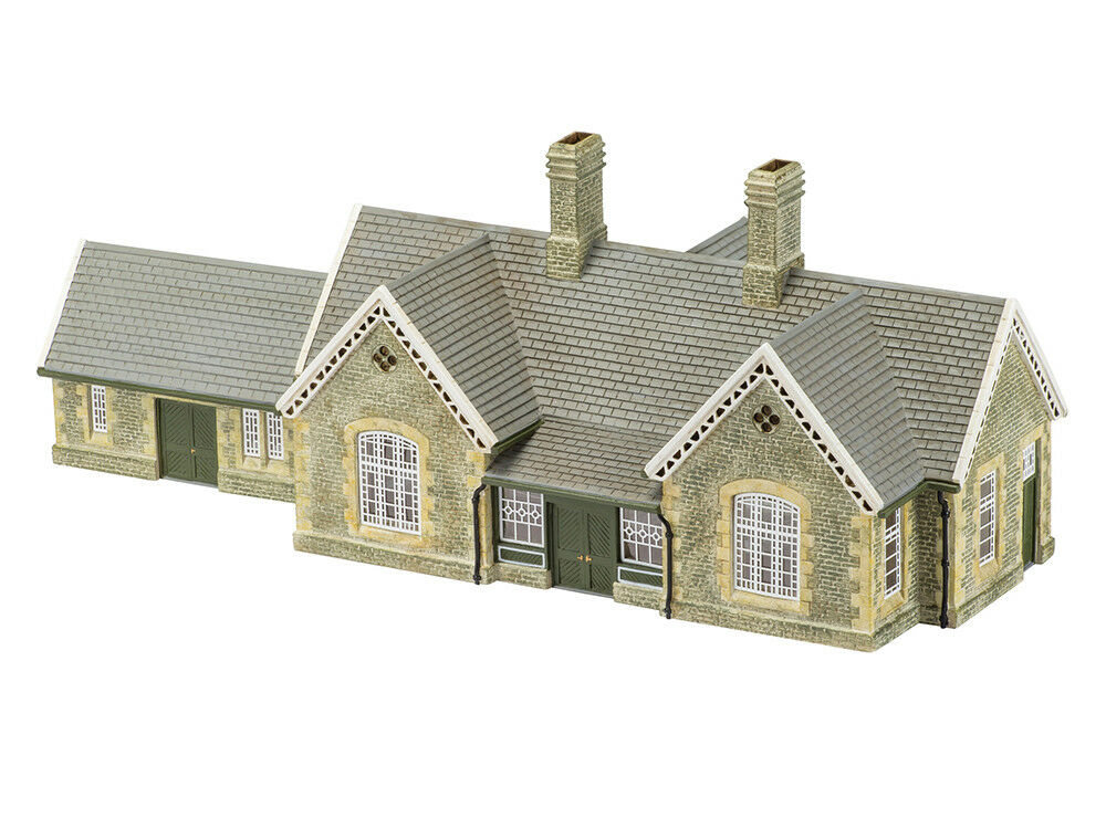 Hornby r9836 00 edifici granito edificio stazione ferroviaria
