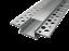 LED Alu Unterputzprofil für 20 mm LED-Streifen mit einklickbarer Abdeckung MUR