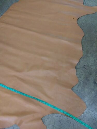 3.5 oz. Italian Cowhide Top Quality cow leather Peanut Butter hide 21 Sq.Ft
