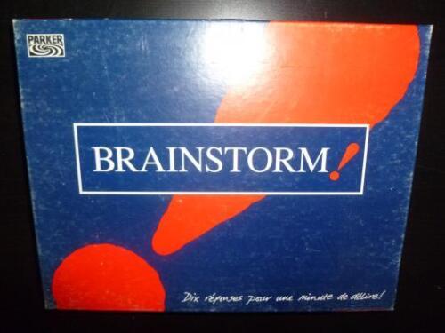 Jeu de société Brainstorm Parker ! 10 réponses pour 1 minute de délire!